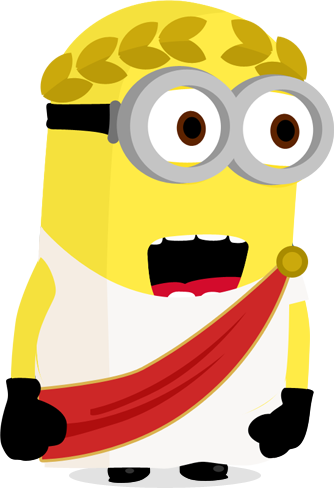 Generate dummy random text in Minions' language with some latin